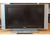 """30"""" PHILLIPS LCD TV BUILTIN FREEVIEW GOOD CONDITION PERFECT WORKING ORDER CAN DELIVER BARGAIN"""