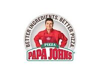 Papa John's Pizza Delivery Driver/Moped (Macclesfield)