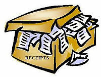 OVERWHELMED WITH  RECEIPTS??  BRING THEM TO ME: 403-255-0106