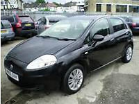 2007 FIAT GRANDE PUNTO 1242CC ENGINE, DRIVES LIKE NEW, 80,000 MILES, LONG MOT.