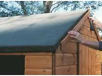 Roofer. BEST PRICE FLAT ROOF in London .garden shed roof from £85,