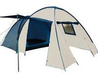 Brand New In Box - 4 person Tent - Blue/White