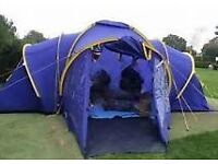 large family tent and all camping equipment - trailer too if required