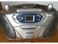 Phillips portable CD/MP3 Cassette Stereo