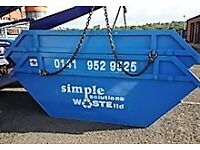 SIMPLE SKIP HIRE SERVICING IN AND ARROUND THE GLASGOW AREA