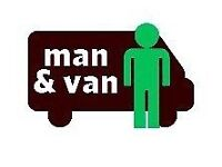 VAN & MAN REMOVAL HOUSE MOVING LUTON DELIVERY DRIVER PIANO COLLECTION BIKE MOVER RUBBISH CLEARANCE