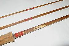 Vintage bamboo fishing rod ebay for Vintage fishing rod identification