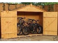Free wooden bike shed SORRY NO LONGER AVAILABLE