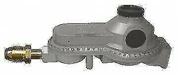 JR Products 07-30375 Excess Flow 2- Stage Propane Regulator with POL