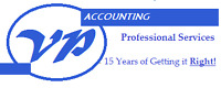VP Accounting - Professional Services
