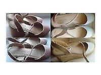 Ladies Wedge Sandal Mid Heel Close Toe Casual Shoes Sandal