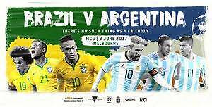 Brazil vs Argentina football tickets at MCG Melbourne CBD Melbourne City Preview