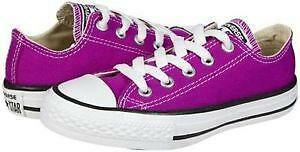 girls size 3 converse shoes