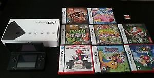 Nintendo DSi with 9 games.