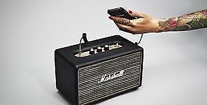 . BRAND NEW sealed MARSHALL Bluetooth speaker!!