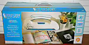 Your Story Laminator and Bookbinder with materials