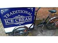 Ice cream Tricycle , Stop me and Buy one, trike for sale