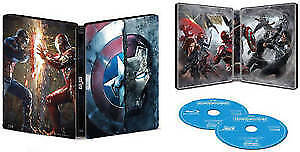 Captain America Civil war steelbook BluRay