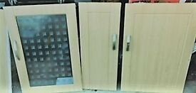 Used Kitchen cupboards doors for sale each regardless of size is just £6 only