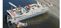 Croisière privée sur un ponton à Lac Mégantic