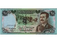 IRAQ 25 Dinars Banknote Saddam Hussein World Paper Money UNC Currency Pick p-73