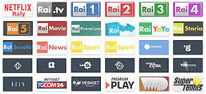 SPECIAL ITALY GREECE PORTUGAL EUROPE USA - TV BOX ANDROID IPTV