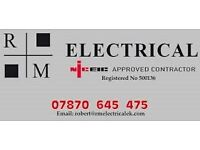 RM Electrical - Reliable, Trust worthy & NICEIC Contractors