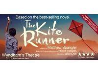 Kite Runner tickets x 2