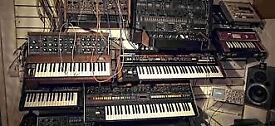 WANTED : Synthesizer , module , keyboard , drum machine , other stuff . GOOD offer