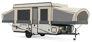 ISO: 10-12' tent trailer