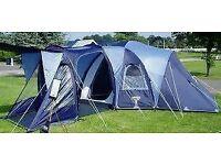 Large family Vango Diablo tent - sleeps 6 with ease