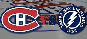 SATURDAY NIGHT HOCKEY! TAMPA BAY LIGHTNING VS MONTREAL CANADIENS ON FEBRUARY 24TH + MAKE YOUR REQUESTS FOR ANY GAMES!