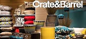 Crate and Barrel $100 Gift Card for $80