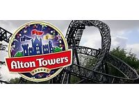 Alton towers tickets x 2 for 6.9.18