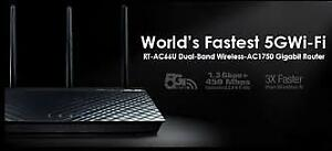 Asus RT-AC66U AC1750 Dual-Band Wireless Router