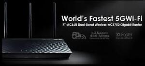 Asus RT-AC66U AC1750 Dual-Band Wireless Router  with dd-wrt VPN