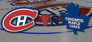 2016-10-29 - Toronto Maple Leafs at Montreal Canadiens Tickets