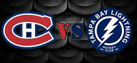 MONTREAL CANADIENS VS TAMPA BAY PLAYOFFS TICKETS FOR SALE