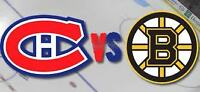 GIFT IDEA! HABS-CANADIENS TICKETS FOR SALE!!!