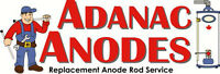 Anode rods,relief valves,dip tubes,water heater repair