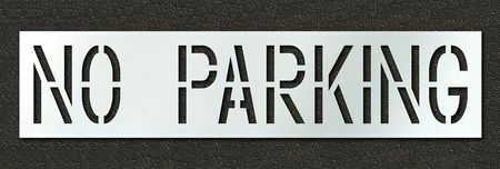 Rae Stl-116-71832 Pavement Stencil,No Parking,18 In