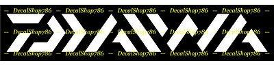 Antler Home Decor Daiwa Fishing Rods & Reels - Outdoor Sports - Vinyl Die-Cut Peel N' Stick Decal Home Decorator Items