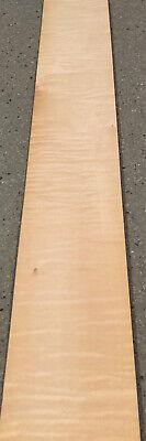 Curly Maple Wood Veneer 7 Sheets 36 X 5 8 Sq Ft