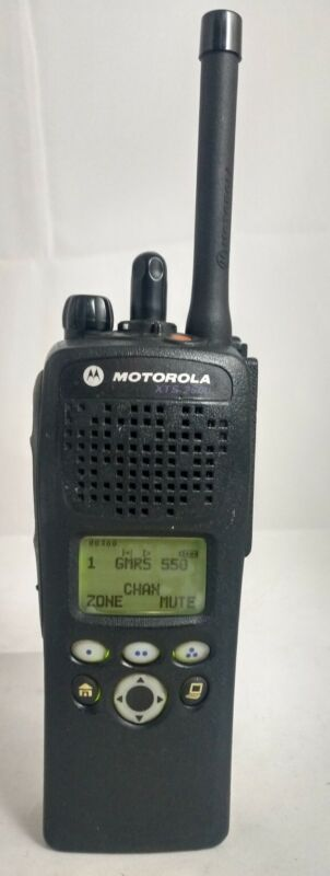 Motorola XTS2500 Model II UHF (380-470 MHz) P25 Digital Encryption