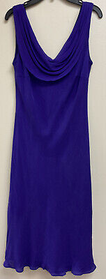 Ralph Lauren Dress Purple Size 6 Formal Dressy Professional Euc Sleeveless
