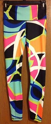FABLETICS Workout Salar Leggings Pants Yoga Colorful Size XS