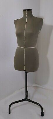 Vintage Antique Singer Dress Form Mannequin Female Busttorso Dressmaking