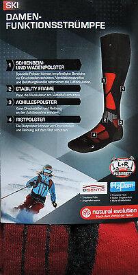 Damen Skisocken Ski Snowboard Socken Skistrümpfe Strümpfe Skifunktionssocken NEU