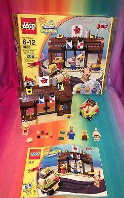 Lego Spongebob #3833----Krusty Krab Adventures (Complete In Original Box)