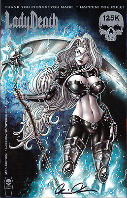 Lady Death Fantasies 1 125K Edition Kickstarter Exclusive Coffin Comics